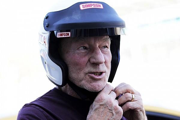 Vintage Breaking news Movie star Patrick Stewart to race in Silverstone Classic