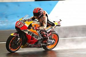 MotoGP Practice report Motegi MotoGP: Marquez tops FP3, Vinales into Q1