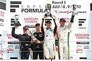 Super Formula Fuji Super Formula: Ishiura wins from Rosenqvist