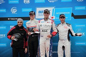 WTCC レースレポート WTCCもてぎレース1:雨中の激戦でチルトンが圧勝。道上龍10位