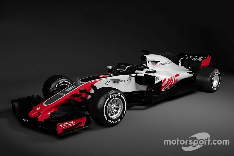 Haas first to reveal 2018 F1 car images
