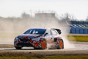 World Rallycross Breaking news GCK's new Renault Megane World RX car breaks cover