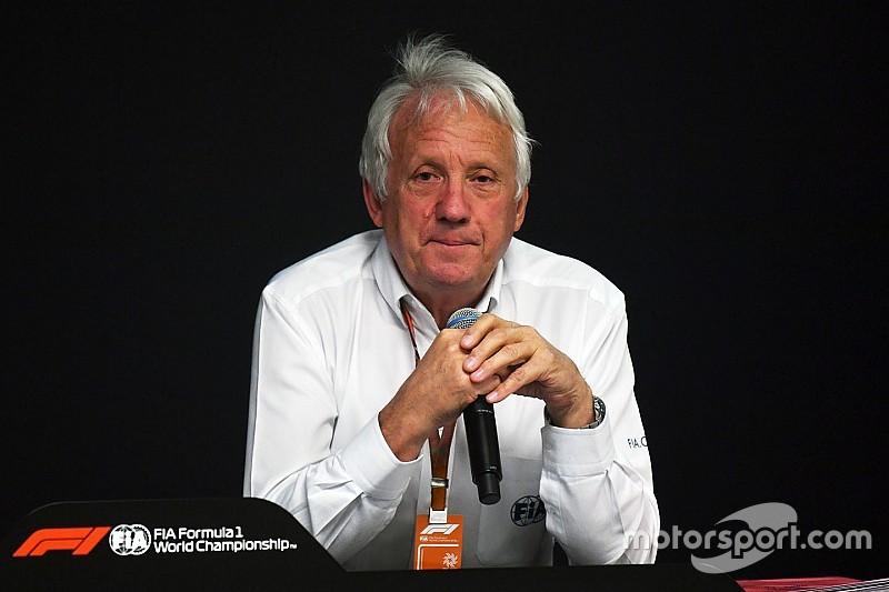 F1赛事总监怀汀去世