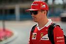 """Formule 1 Raikkonen over 2017: """"Verre van wat ik me ervan had voorgesteld"""""""
