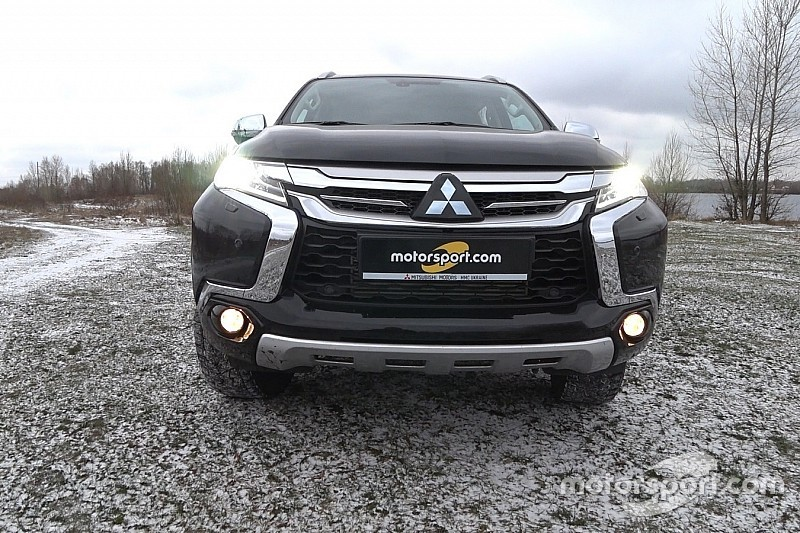 Тест-драйв: у пошуках перешкод для Mitsubishi Pajero Sport