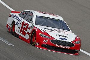 NASCAR Sprint Cup Crónica de Carrera Ryan Blaney supera  a Kevin Harvick y gana Etapa 1 en  Kansas