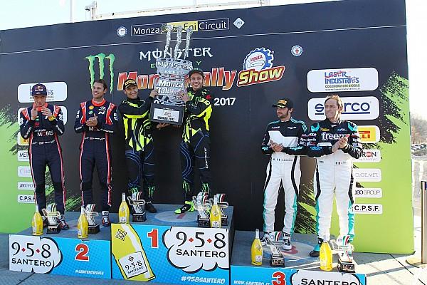 Otros rallies Rossi remonta y conquista su sexto Monza Rally Show