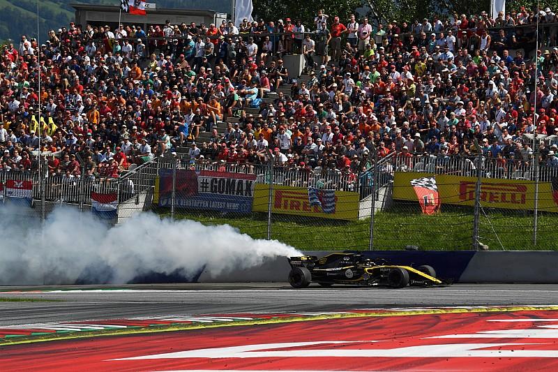 Füstölő motor, hólyagosodó gumi - kettős pontszerzés helyett csalódás a Renault-nál