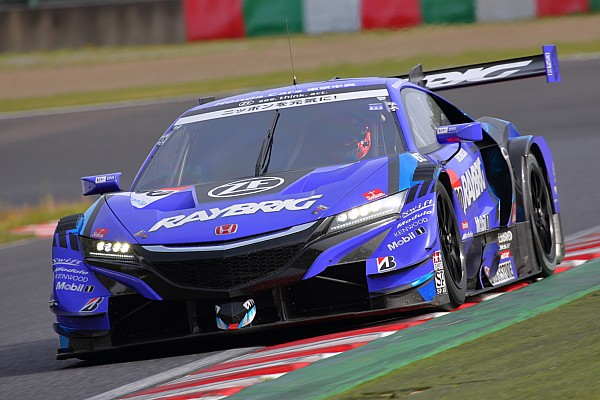 Button tops Day 1 of Suzuka Super GT test