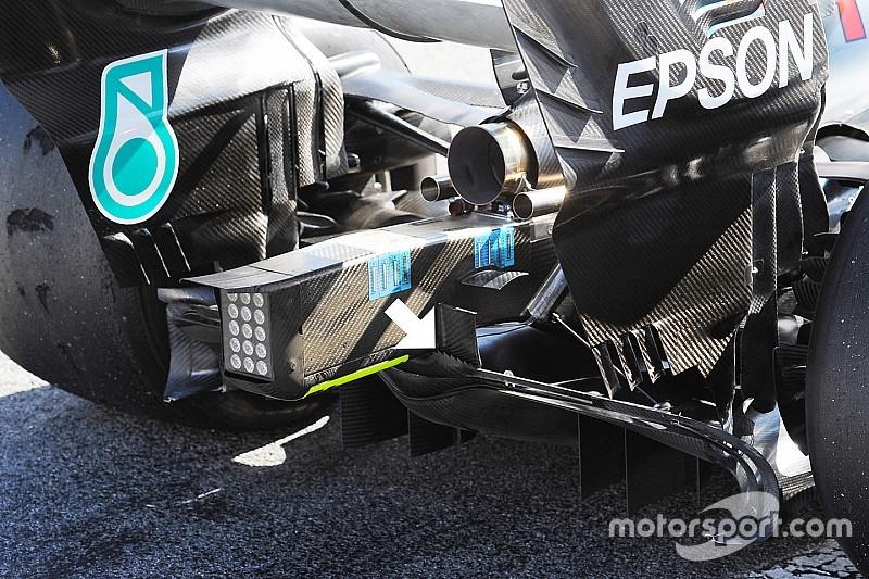 Formel-1-Technik: Neuheiten beim Barcelona-Test (1)