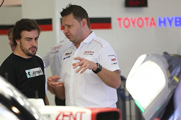 """WEC Nieuws Toyota tevreden met Alonso: """"Een brave rookie"""""""