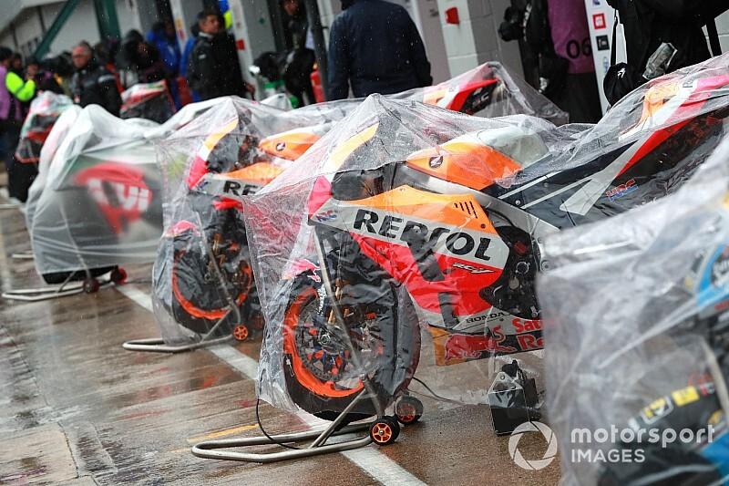 Гонки MotoGP будут переносить на понедельник или вторник в случае отмены в воскресенье