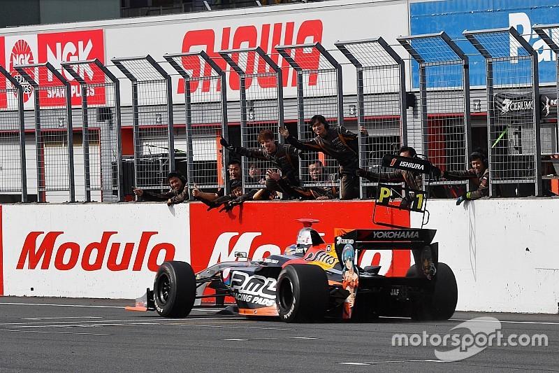 石浦宏明「もてぎは重要なレースだった。次の岡山も得意……選手権リードを目指す」