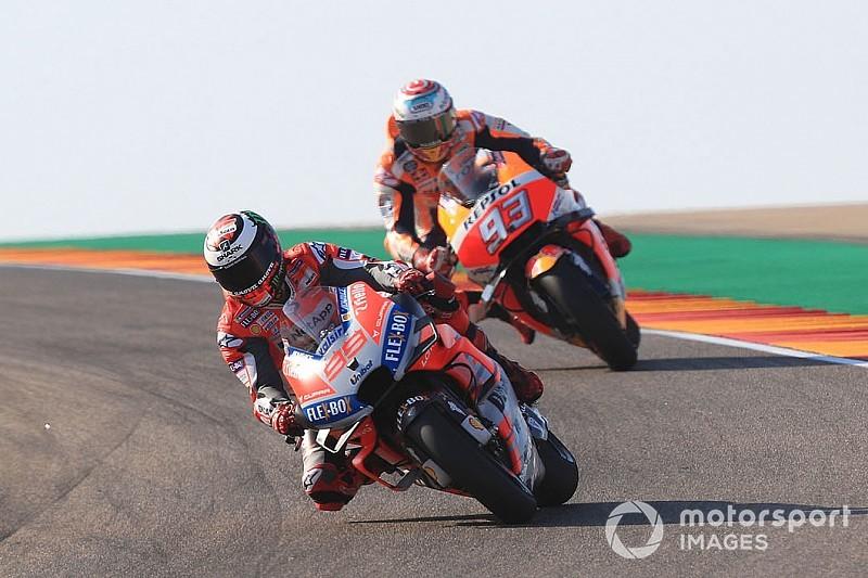 Lorenzo megküzdött a pole-ért, míg Dovi örül a második helynek - Marquez a versenyben bízik