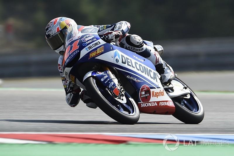 Brno Moto3: Di Giannantonio fends off Canet for first win