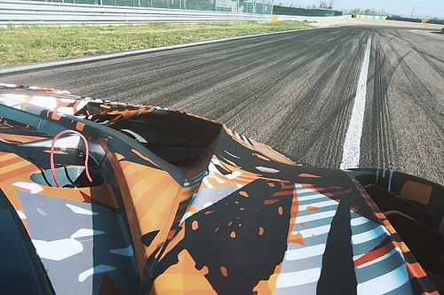 Video: Shakedown for new Lamborghini Squadra Corse V12 car