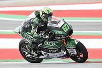Moto2オーストリア予選:ガードナーがPP獲得。長島はクラッシュで不完全燃焼