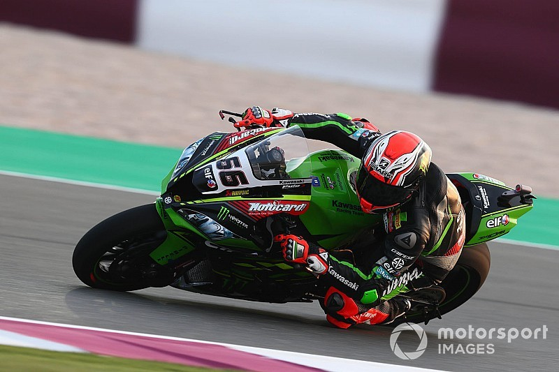 Qatar WSBK: Sykes beats Rea to final pole of 2018