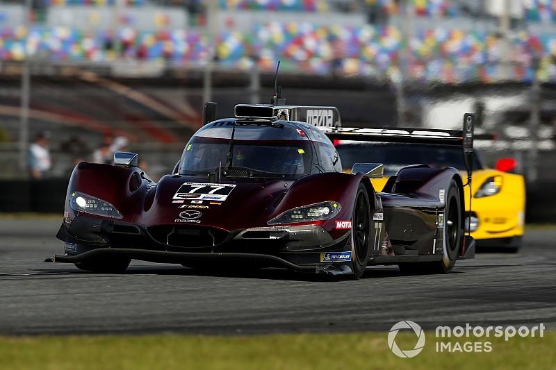 Mazda acapara la primera calificación en Daytona