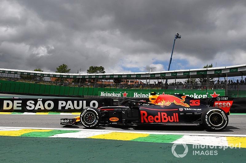 Verstappen nyerte a rendkívül szoros FP1-et Brazíliában Vettel és Hamilton előtt