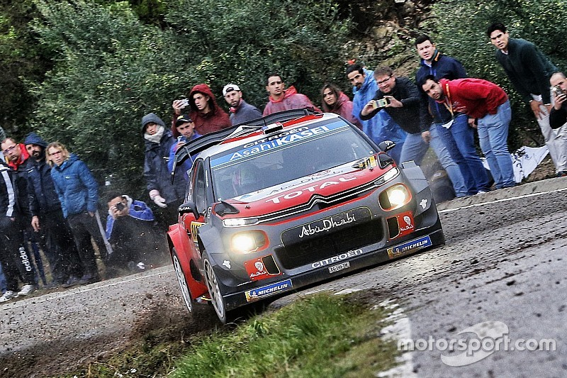 Catalunya WRC: Loeb takes lead ahead of final stages