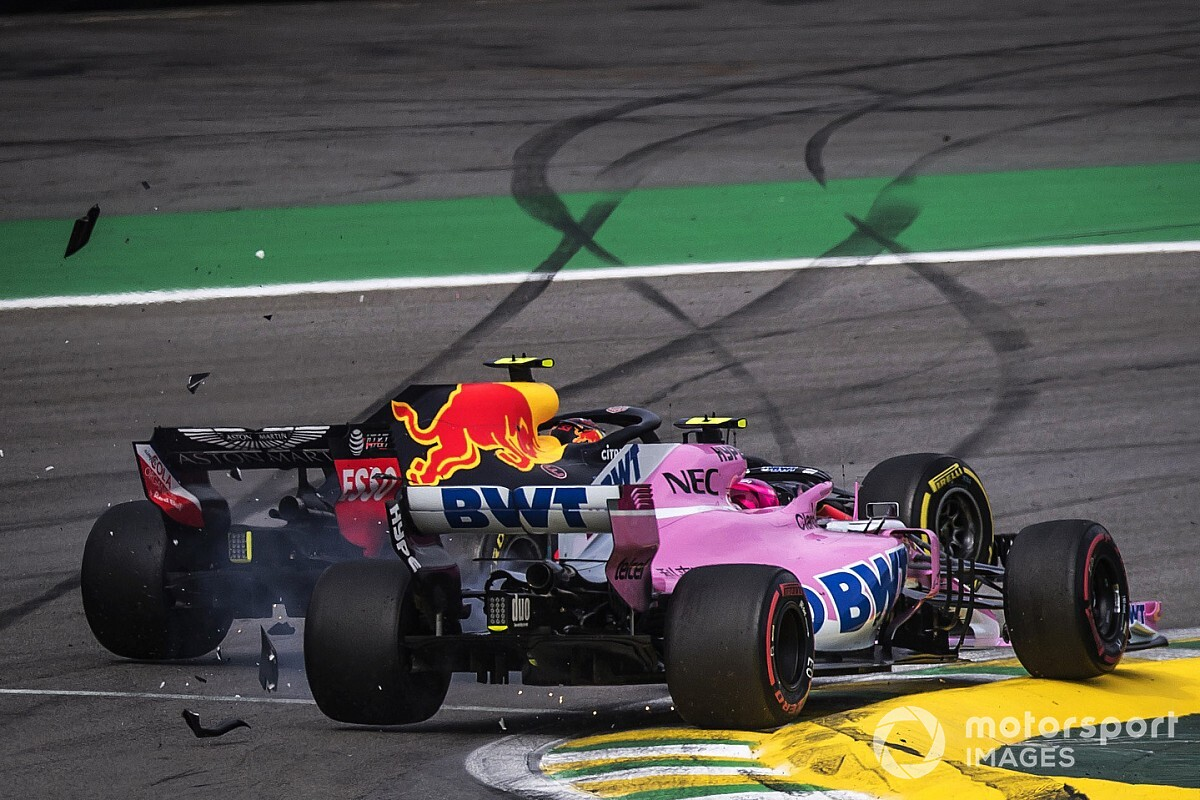 La razón por la cual el movimiento de Ocon con Verstappen fue sancionado