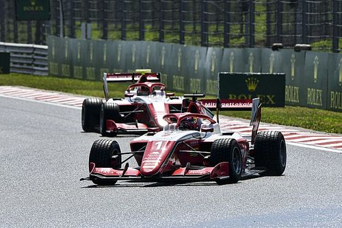 Hungary F3: Hauger beats Leclerc to win wet third race