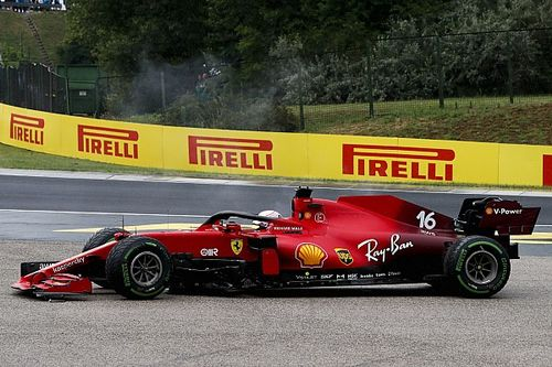 Ferrari forced to write off Leclerc's F1 engine after Hungary crash