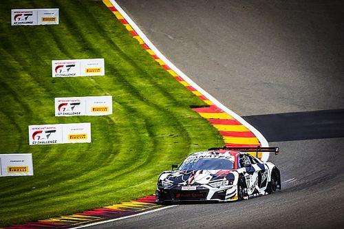 24h Spa: Audi-WRT al comando anche nelle Pre-Qualifiche