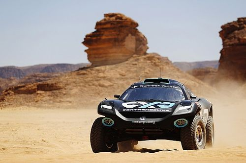 Kristoffersson en Taylor laten Rosberg domineren in Desert X-Prix