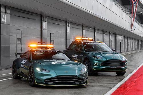 Aston Martin levert safety car voor de Formule 1