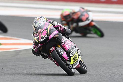 Arbolino klopt Fernandez in Moto3 GP van Valencia