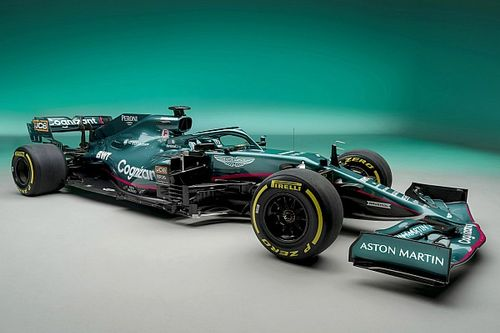 Aston Martin dévoile sa F1 pour 2021