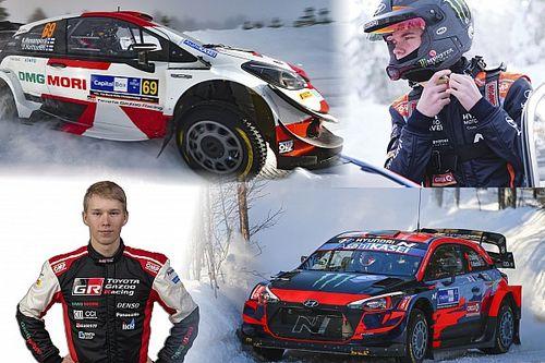 Report WRC: al Rally Arctic Finland ecco i piloti del futuro