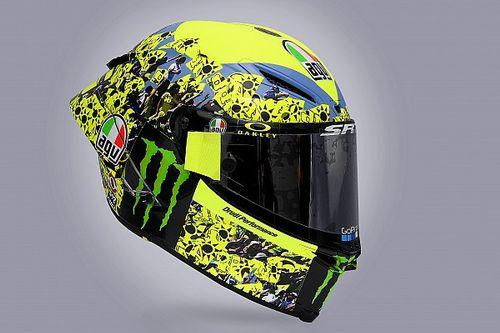 MotoGP: Em GP final na Itália, Rossi faz homenagem aos fãs com pintura especial no capacete