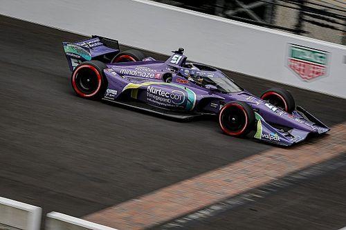 Grosjean steekt loftrompet voor VeeKay na duel op Indianapolis
