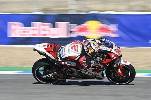 Nakagami, Jerez'de ilk MotoGP podyumu şansını kaçırınca ağlamış