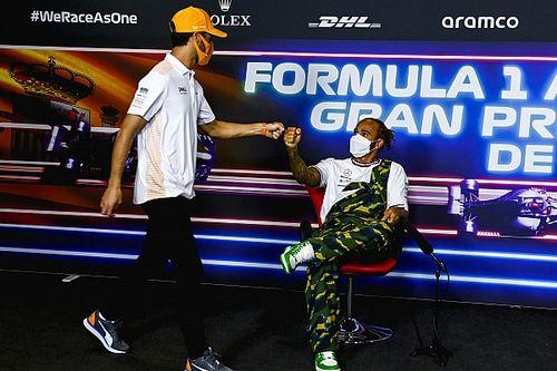 """Ricciardo: """"Hamilton, bu yılki savaşlarıyla başarısı hakkındaki şüpheleri sona erdiriyor"""""""