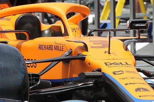 Tech: McLaren voert in Frankrijk aanpassingen door aan MCLM35