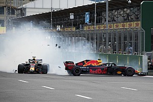 Formule 1 Toplijst In beeld: De crash van Verstappen en Ricciardo vanuit alle hoeken