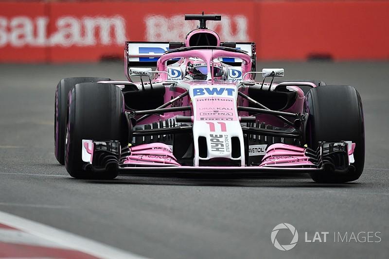 Force India busca pelearle a Renault el cuarto lugar por escuderías