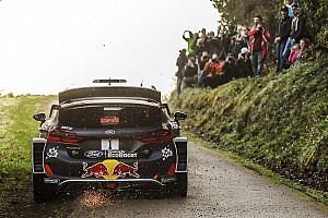 WRC Отчет о секции Ожье завершил лидером первый день Ралли Франция