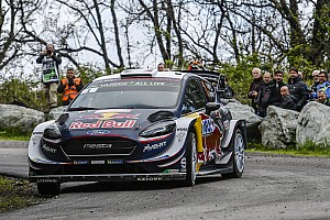 WRC Leg report Corsica WRC: Ogier sets up half-minute lead over Neuville