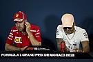 Hamilton ve Vettel, Monaco'da grid kızlarını yeniden görecekleri için mutlu