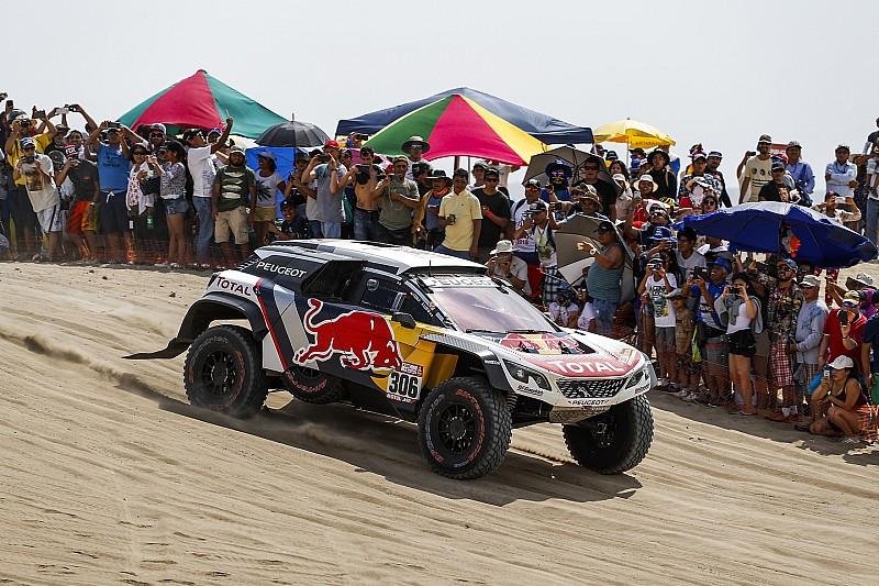 "Loeb lamenta começo ""terrível"" no Dakar 2018"