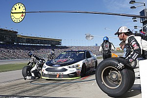 NASCAR Cup Interview Kevin Harvick: New pit road rules will require