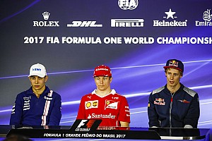 Formula 1 Press conference Brazilian GP: Thursday's press conference