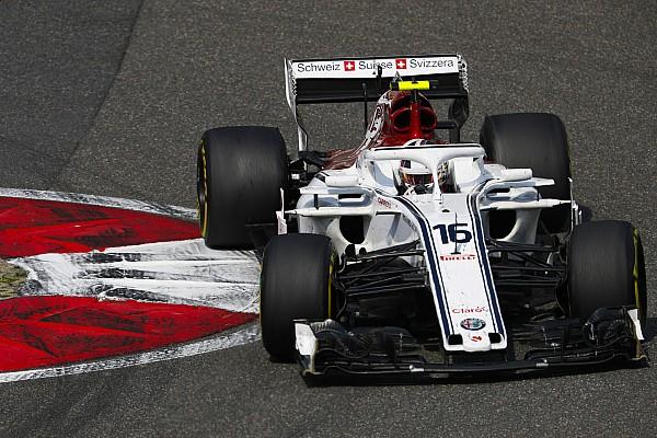 Leclerc, tuhaf spin karşısında şaşkın