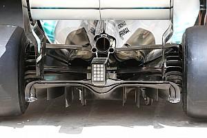 Mercedes: ecco il nuovo diffusore posteriore che punta all'efficienza