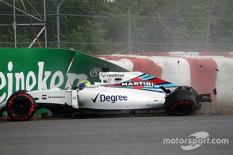 Despite Massa crash, Williams has a positive Friday practice for the Canadian GP
